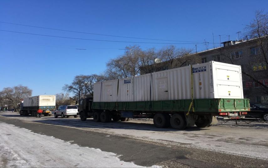 俄罗斯AGPP项目首批货物顺利发运